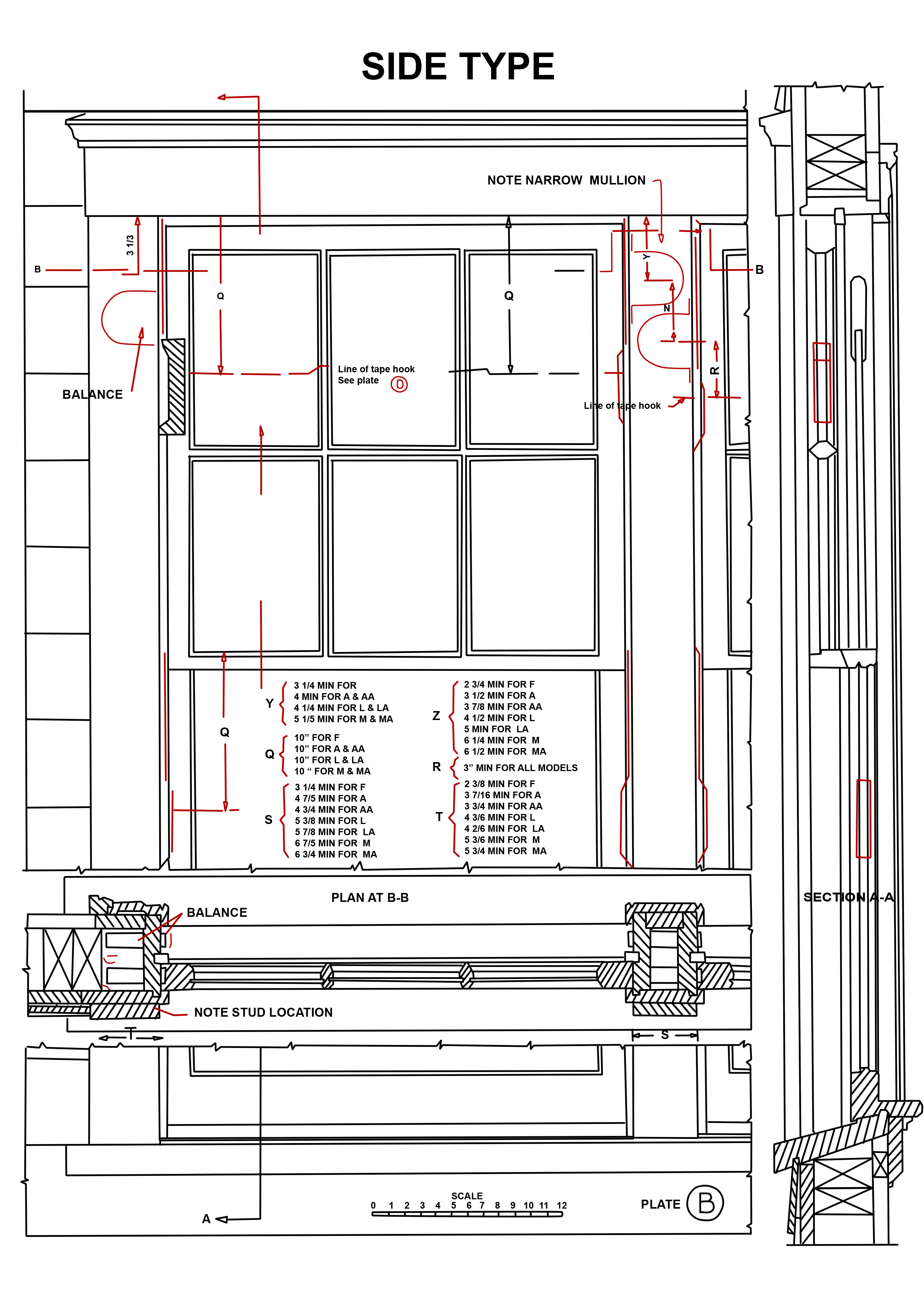 Installation Standard Balances Pullman Mfg Pullman Mfg