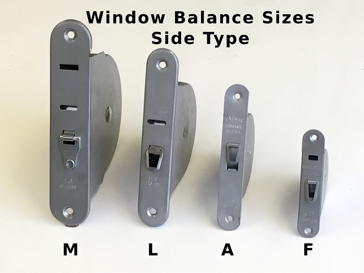 Spring Balance For Windows Replaces Window Weight Or